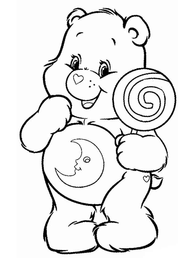 care bears coloring pages 12