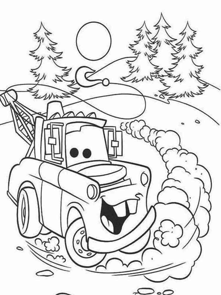 cars and cars 2 coloring pages  download and print cars