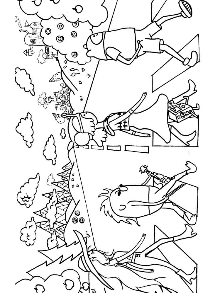 cartoon network coloring pages 5