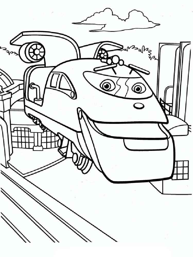 Chuggington coloring pages. Free Printable Chuggington coloring pages.