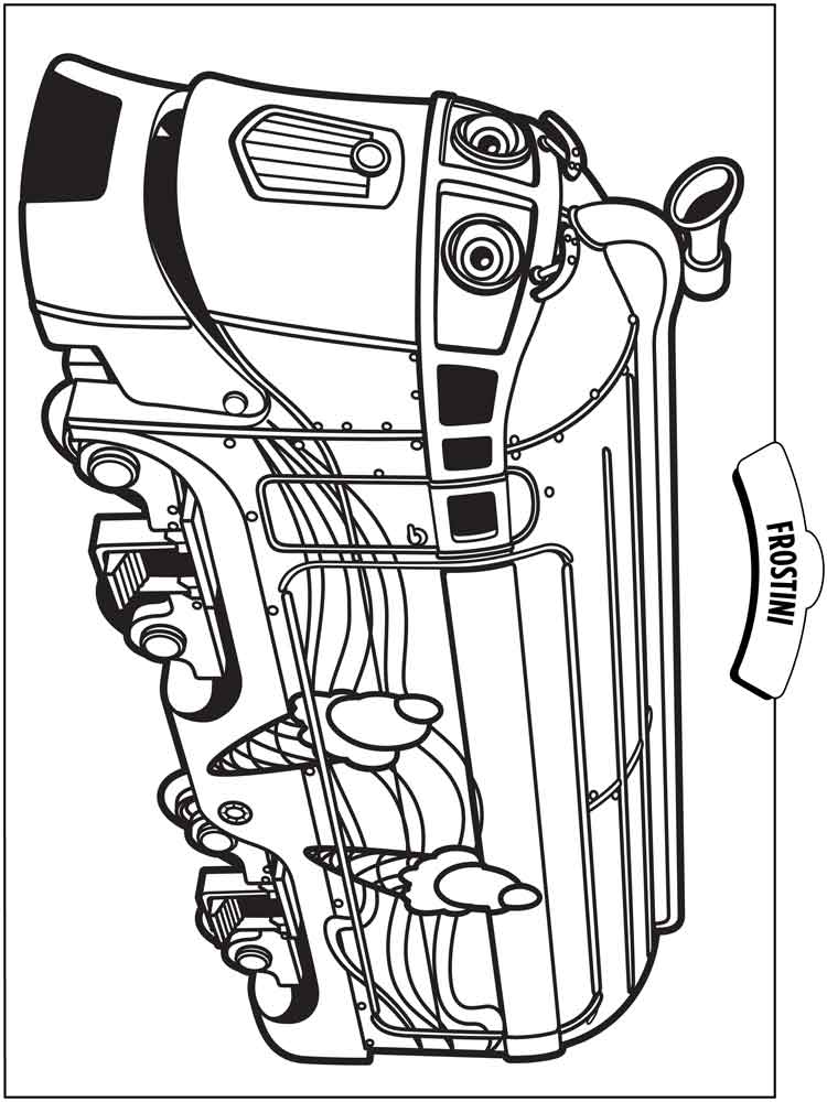 Chuggington coloring pages Free