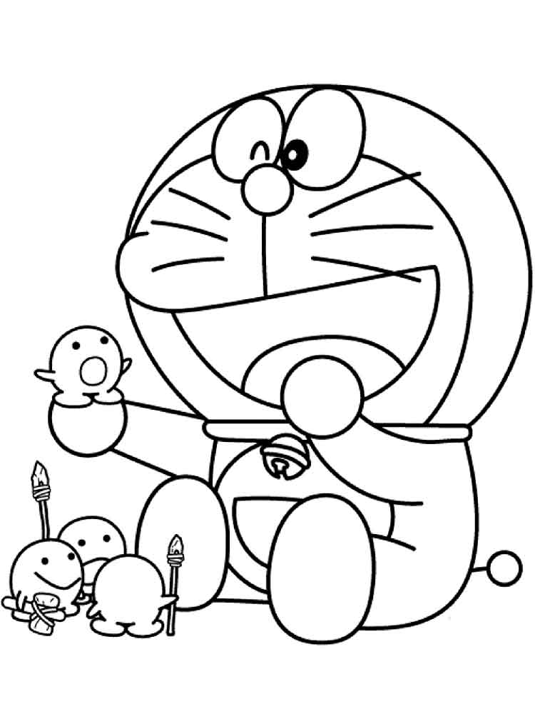 Doraemon Coloring Pages Free Printable Doraemon Coloring Pages