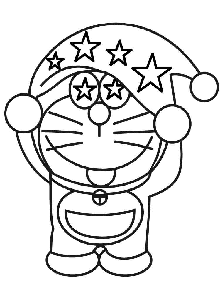 Doraemon Coloring Pages Free Printable Doraemon Coloring