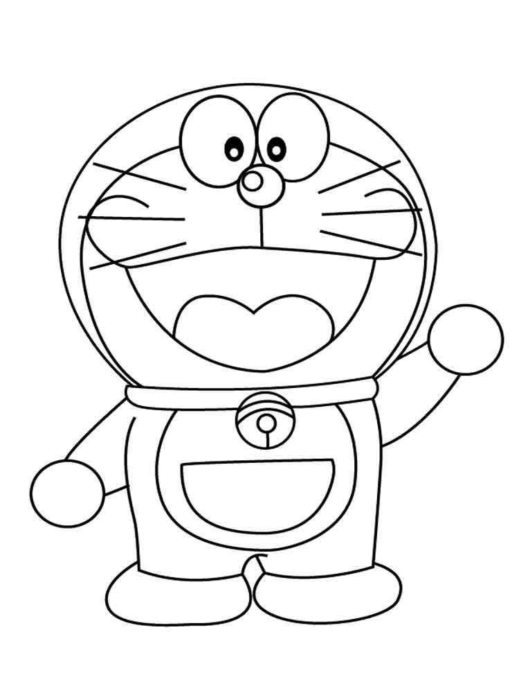 Doraemon Coloring Pages Free Printable Doraemon Coloring
