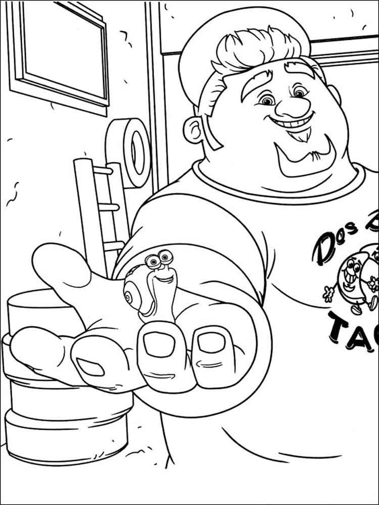 Dreamworks turbo coloring pages free printable dreamworks for Dreamworks coloring pages