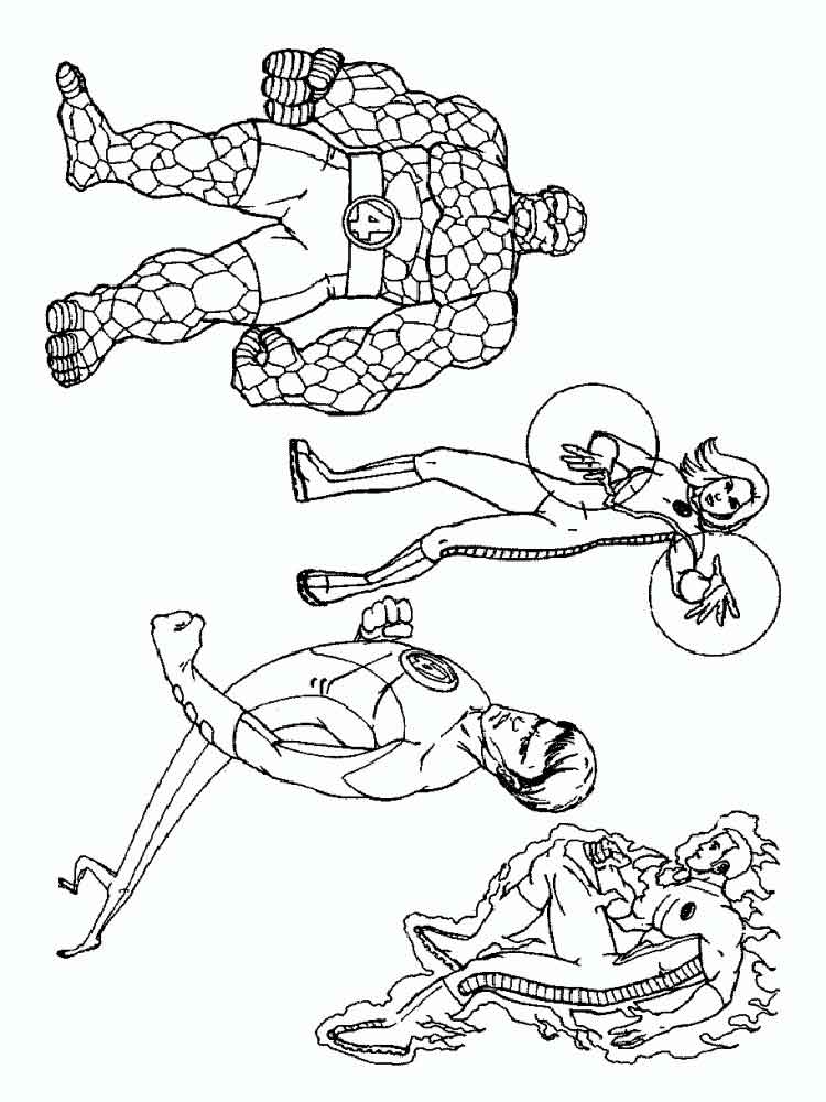 fantastic coloring pages - photo#9