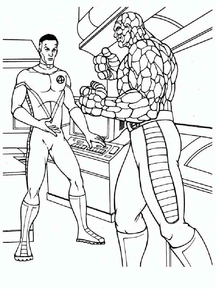 fantastic coloring pages - photo#12