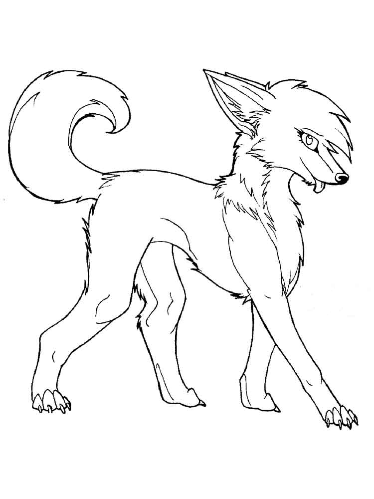 Fox and The Hound coloring pages. Free Printable Fox and ...