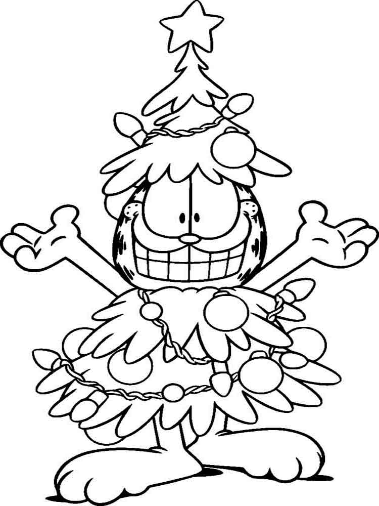 Garfield coloring pages Download