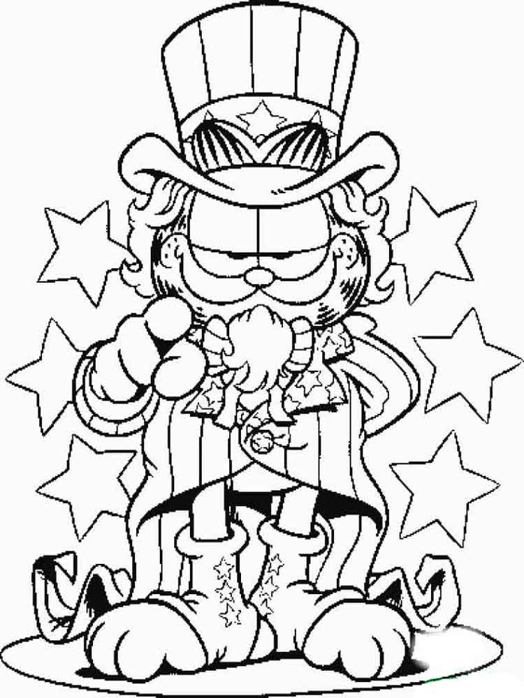 Garfield Coloring Pages Download And Print Garfield