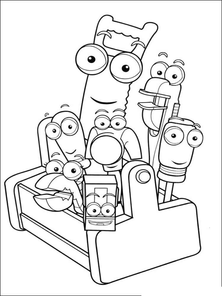 Handy Manny coloring pages Free