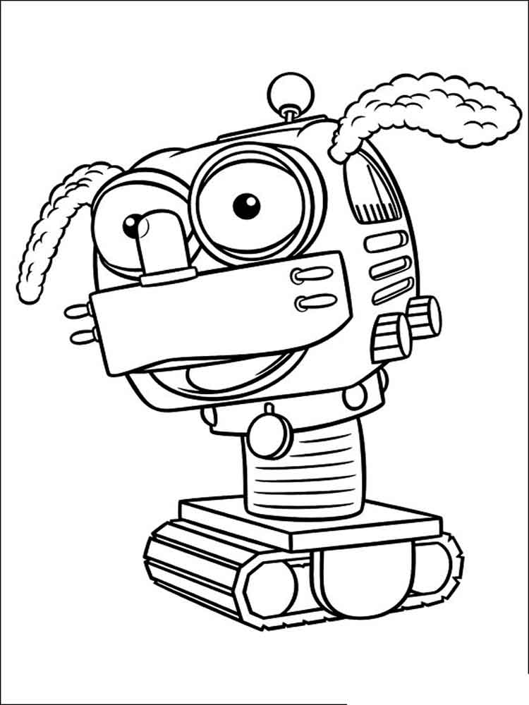 Handy Manny coloring pages. Free Printable Handy Manny ...
