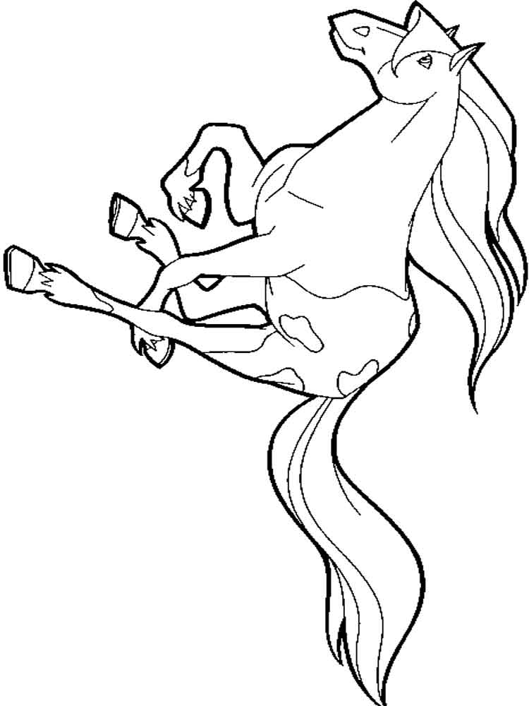 Horseland coloring pages Free Printable Horseland coloring pages