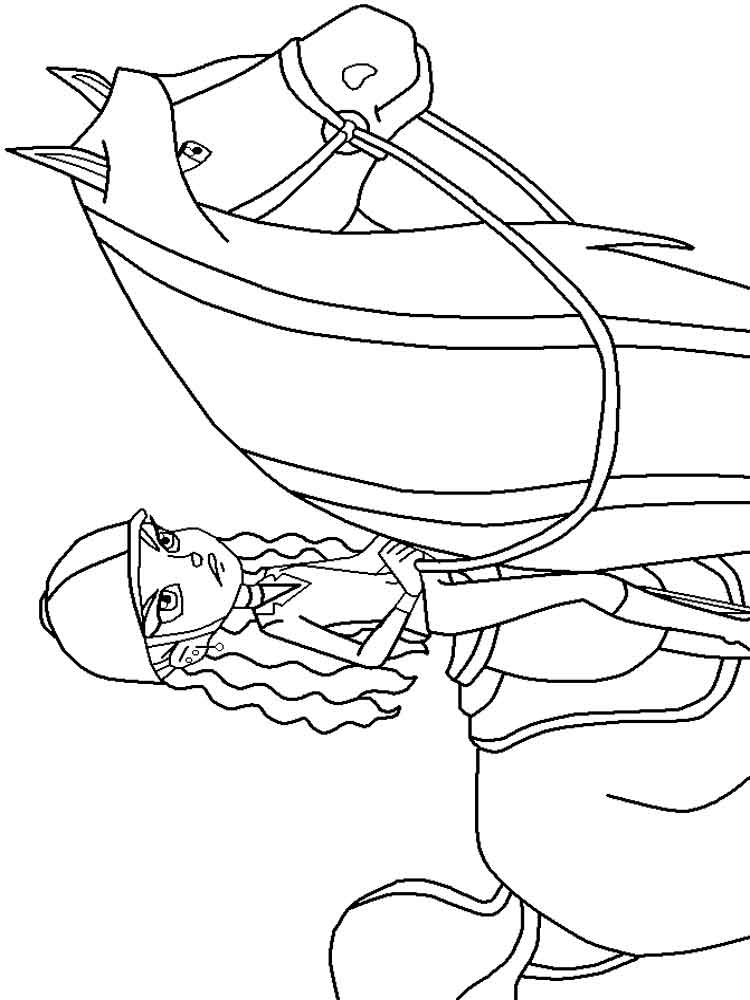 Horseland coloring pages Free