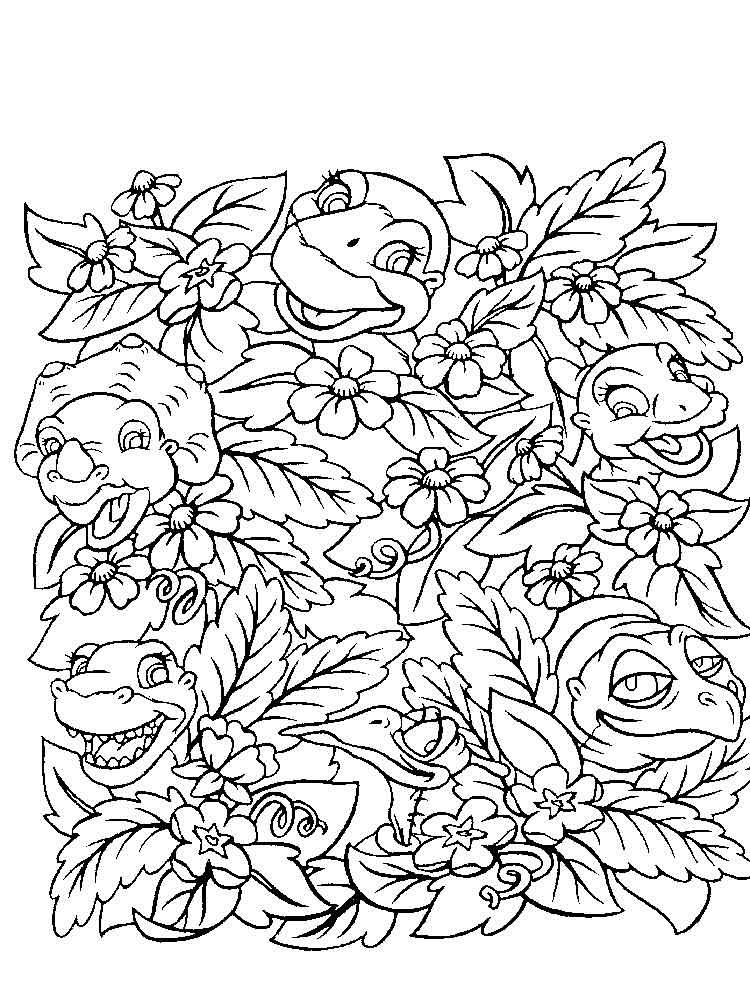 - Land Before Time Coloring Pages. Free Printable Land Before Time Coloring  Pages.