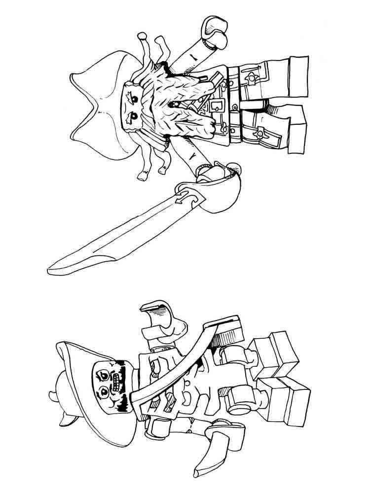 Раскраски для мальчиков ниндзяго распечатать - 1