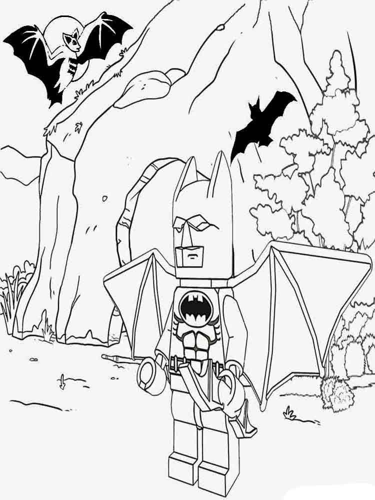 Lego Coloring Pages To Print And