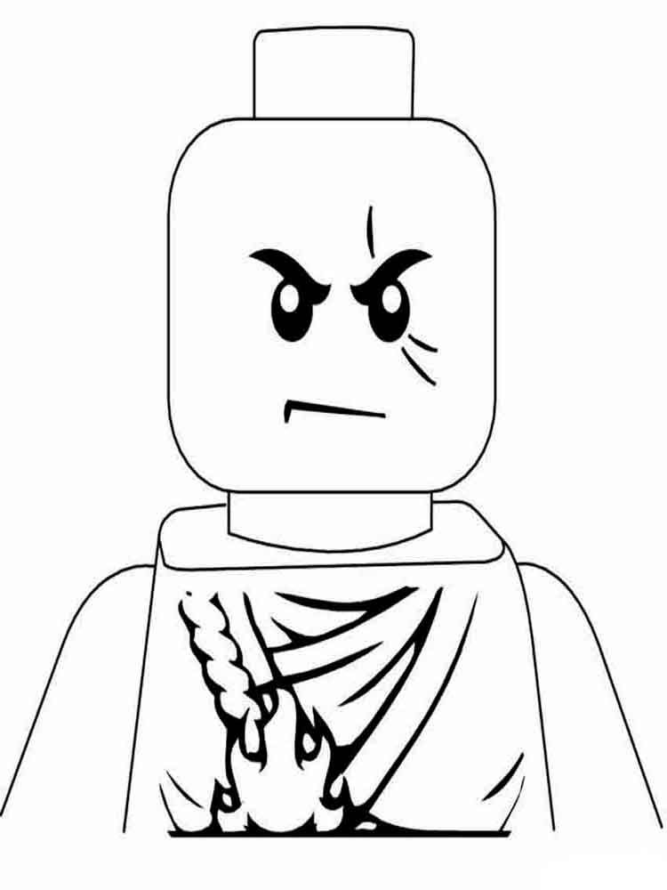 Lego Coloring Pages 6