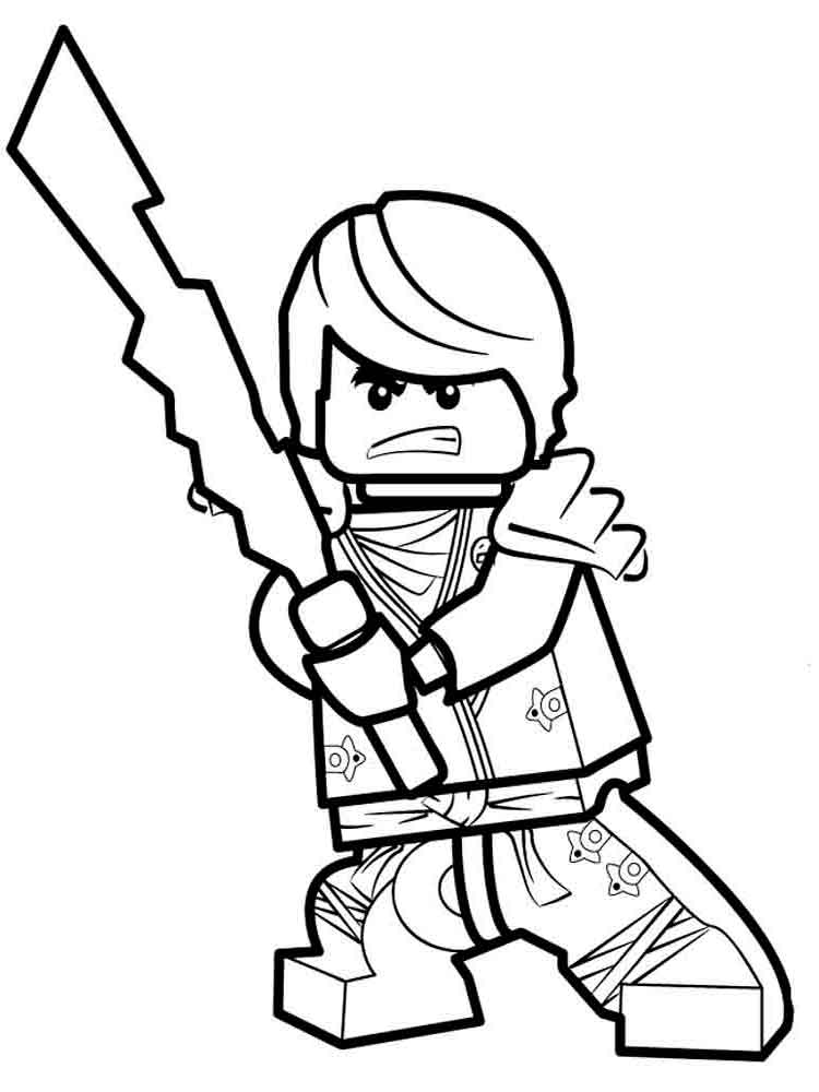 Lego coloring pages Download and