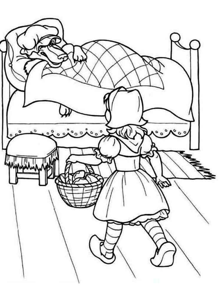 red coloring page - the gallery for kids coloring pages birds