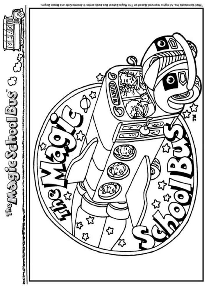Bug Magic School Bus Coloring Pages Coloring Pages