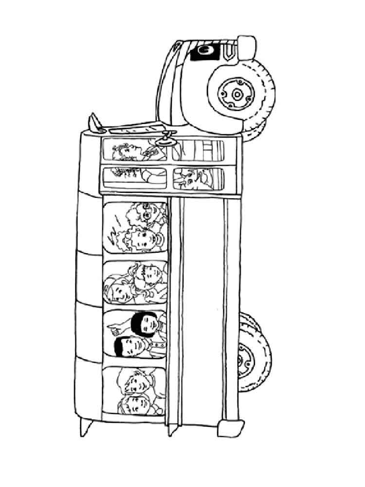 Magic school bus coloring pages christmas magic best for Magic school bus coloring page