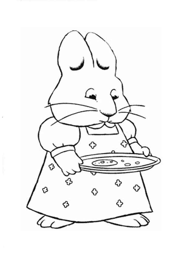 Max and Ruby coloring pages. Free Printable Max and Ruby ...