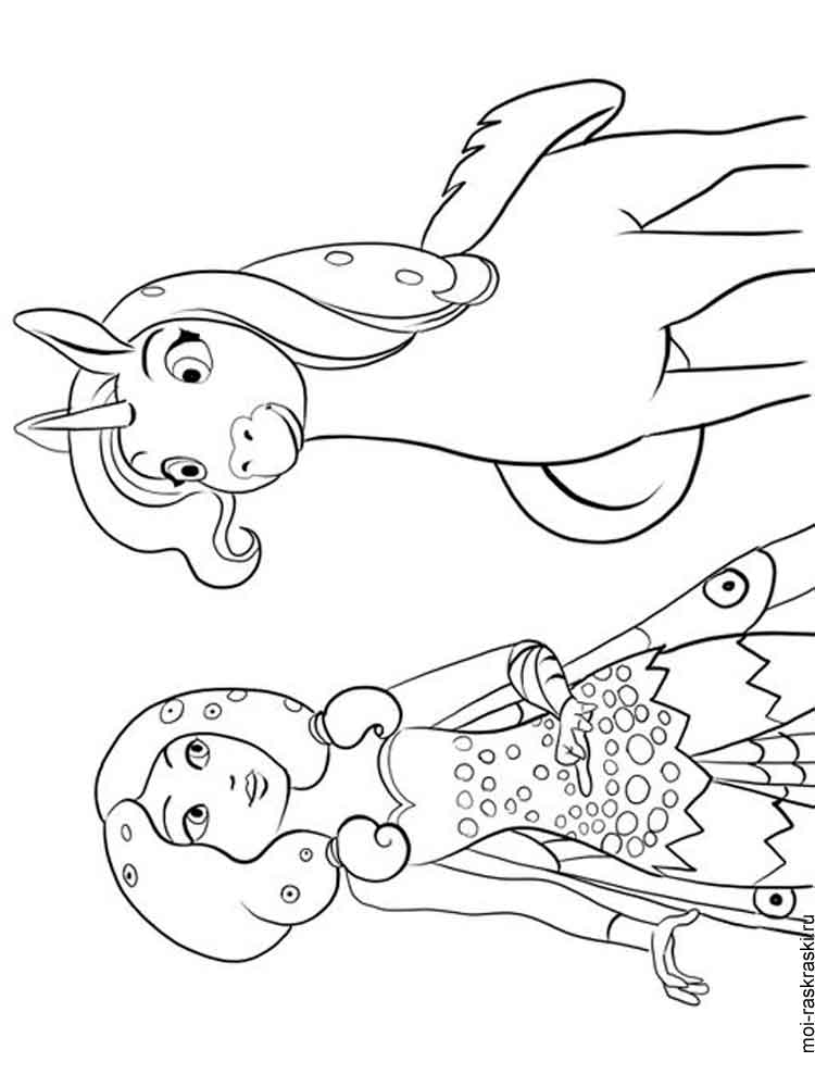 mia and me coloring pages - photo#20