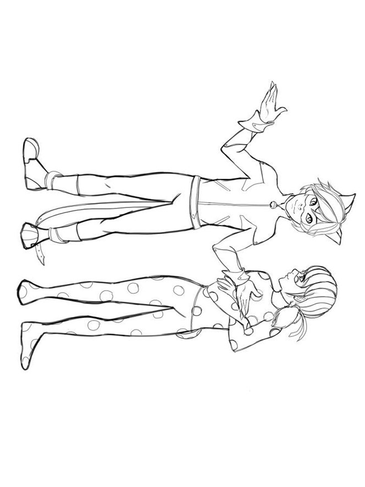 Miraculous: Tales of Ladybug and Cat Noir coloring pages ...