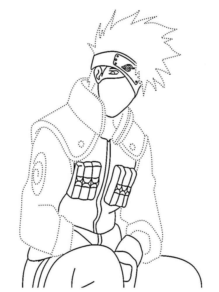 Naruto coloring pages Free Printable
