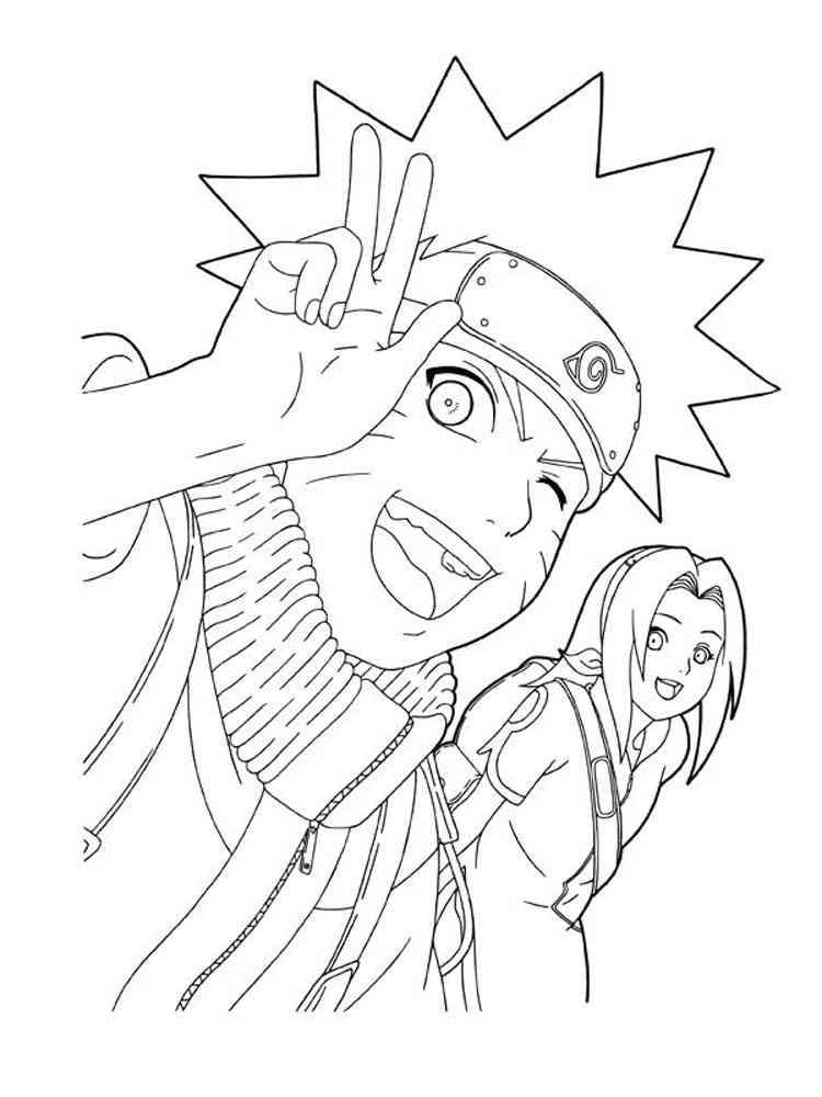 Naruto coloring pages. Free Printable Naruto coloring pages.