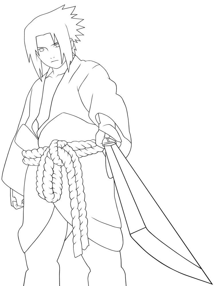 Naruto coloring pages free printable naruto coloring pages for Anime coloring pages naruto