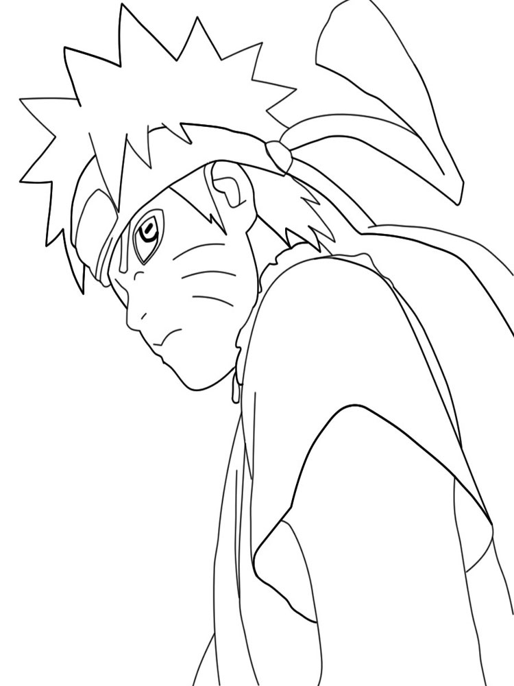 Naruto Coloring Pages Free Printable Naruto Coloring Pages