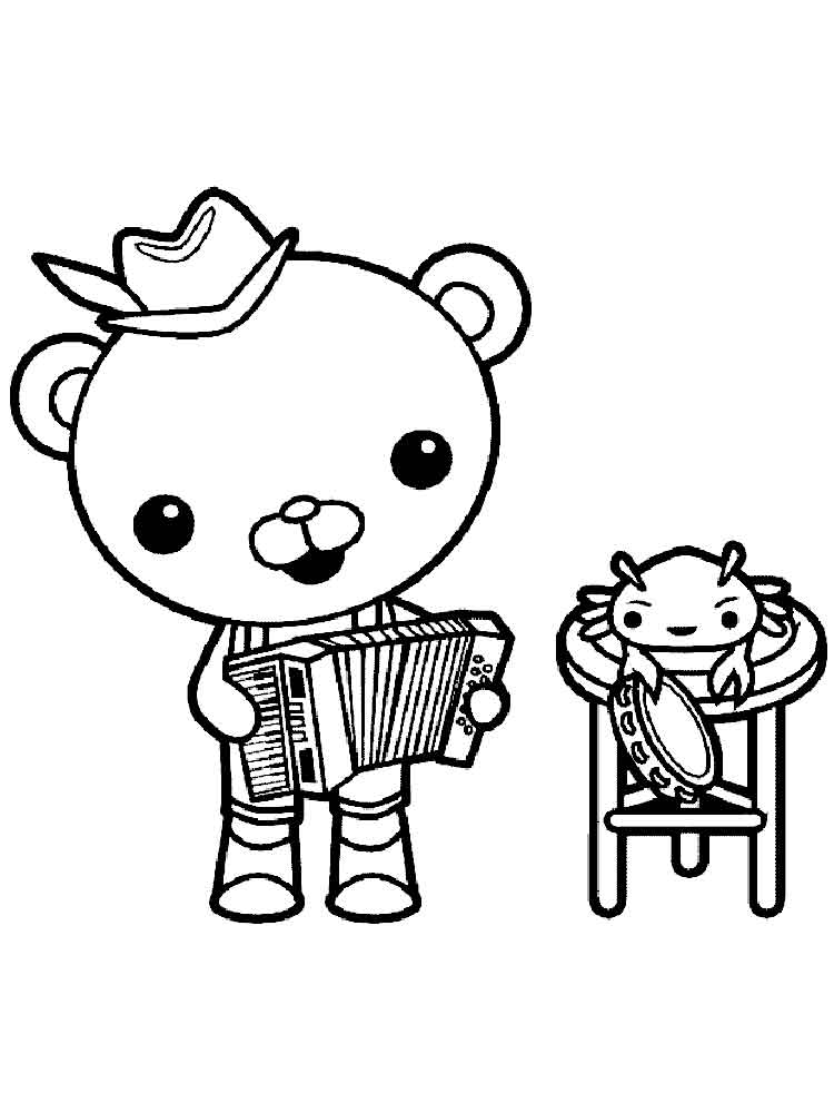 - Octonauts Coloring Pages. Free Printable Octonauts Coloring Pages.