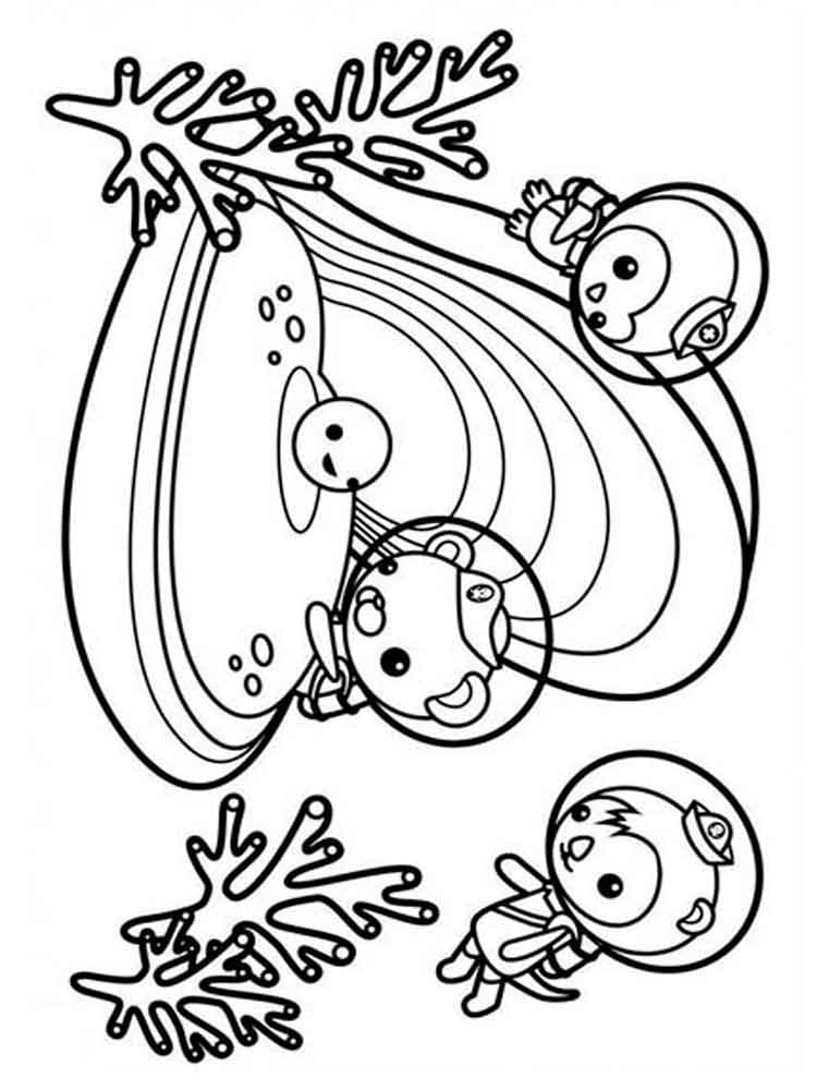 Colorful Octonauts Gup C Coloring Pages Motif - Resume Ideas ...