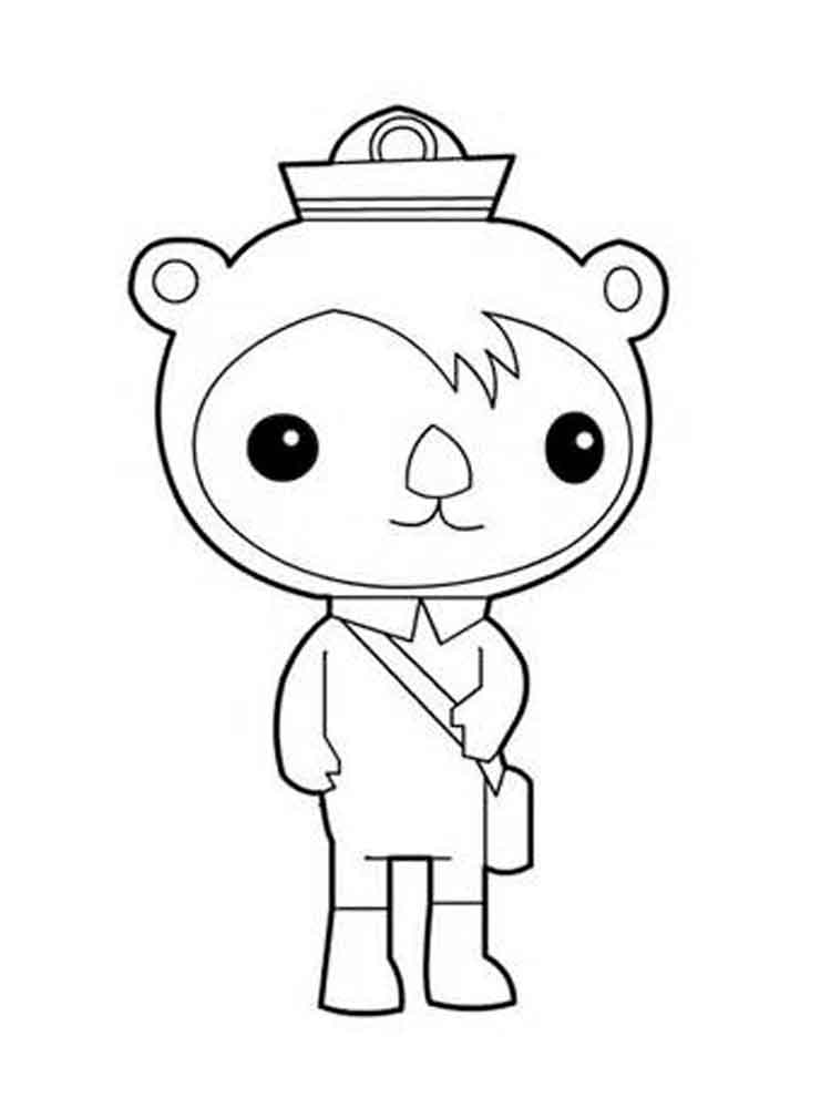 Octonauts Coloring Pages Free Printable Octonauts