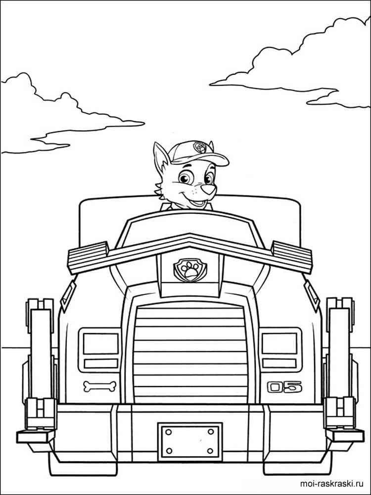 Paw Patrol coloring pages. Free Printable Paw Patrol ...