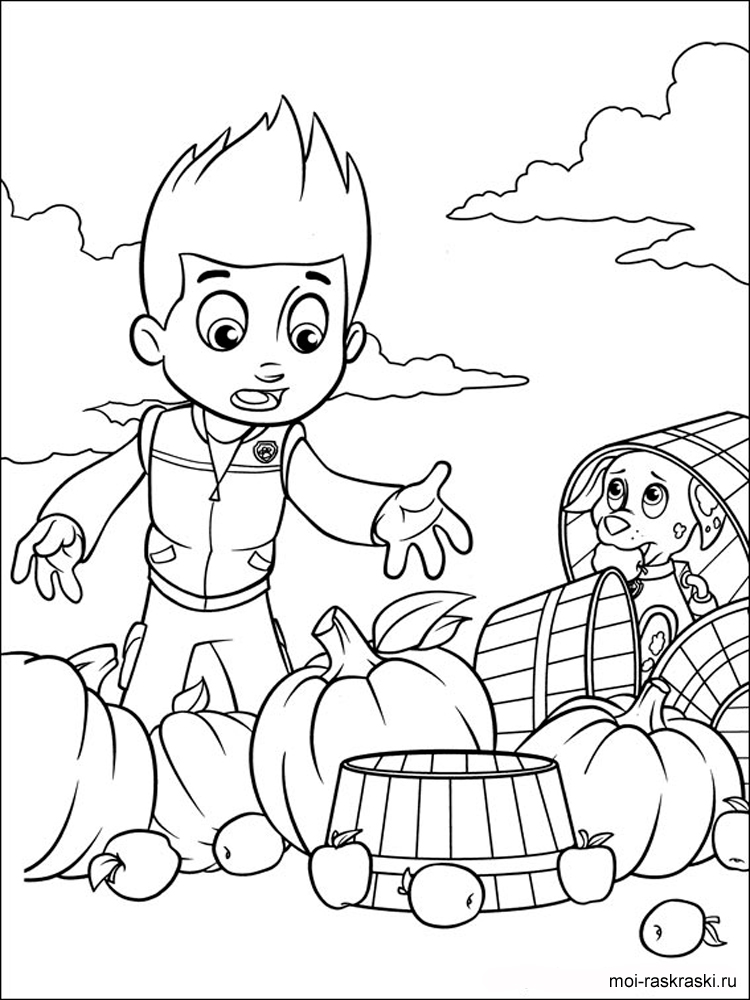 Paw Patrol coloring pages Free Printable Paw Patrol