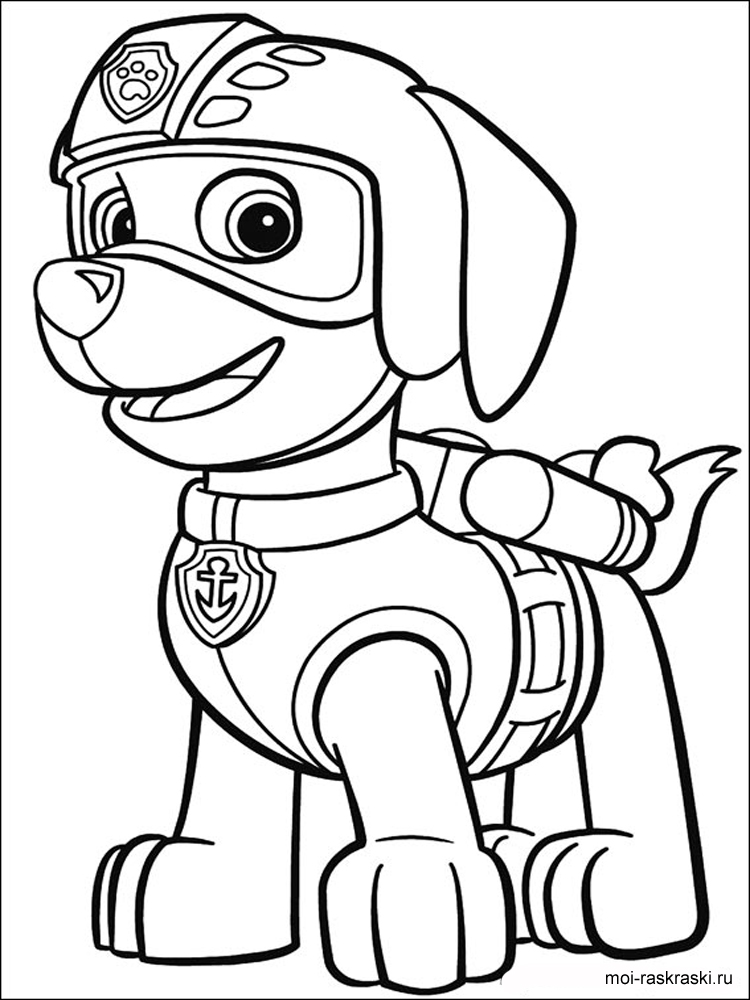 Paw patrol coloring pages free printable paw patrol for Stampe da colorare spiderman