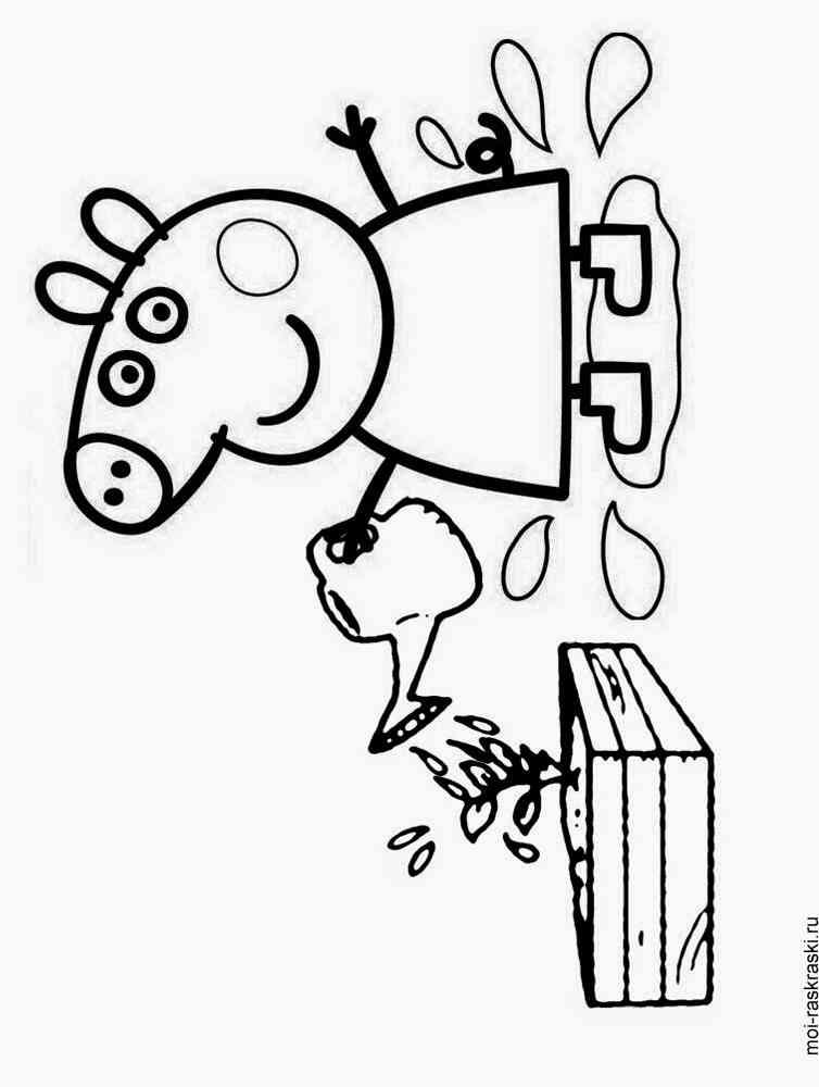 Peppa Pig coloring pages Free Printable Peppa Pig