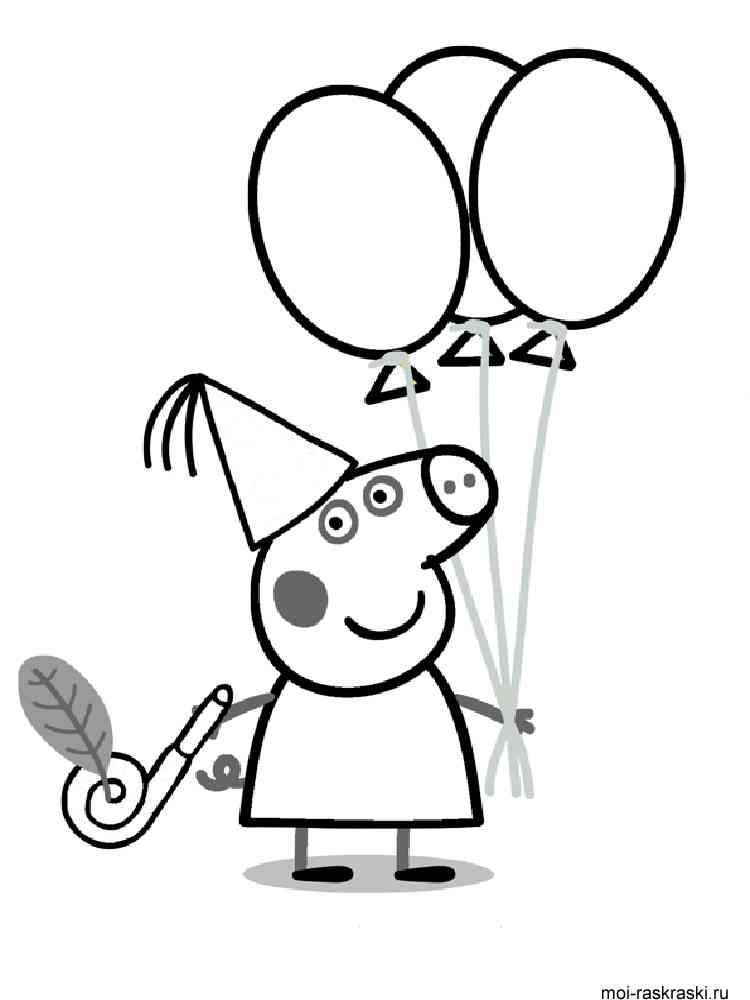 Peppa Pig coloring pages. Free Printable Peppa Pig ...