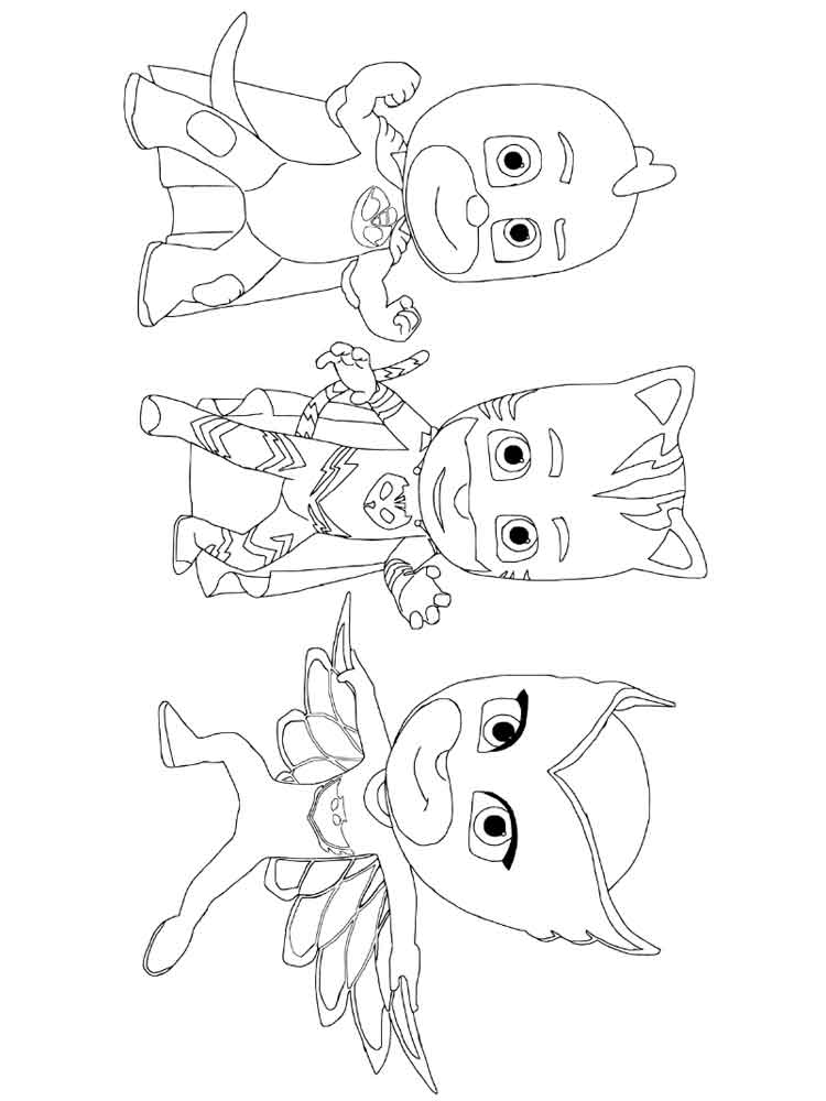 pj masks coloring pages 10