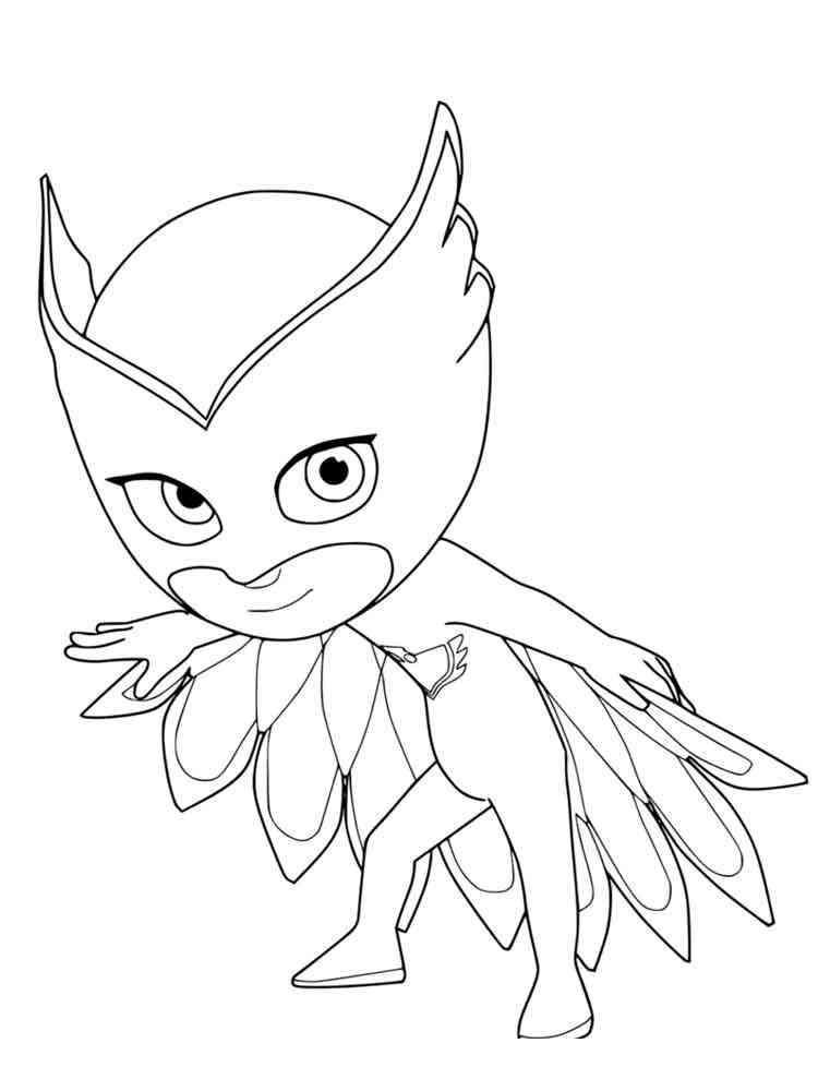 PJ Masks coloring pages. Free Printable PJ Masks coloring ...