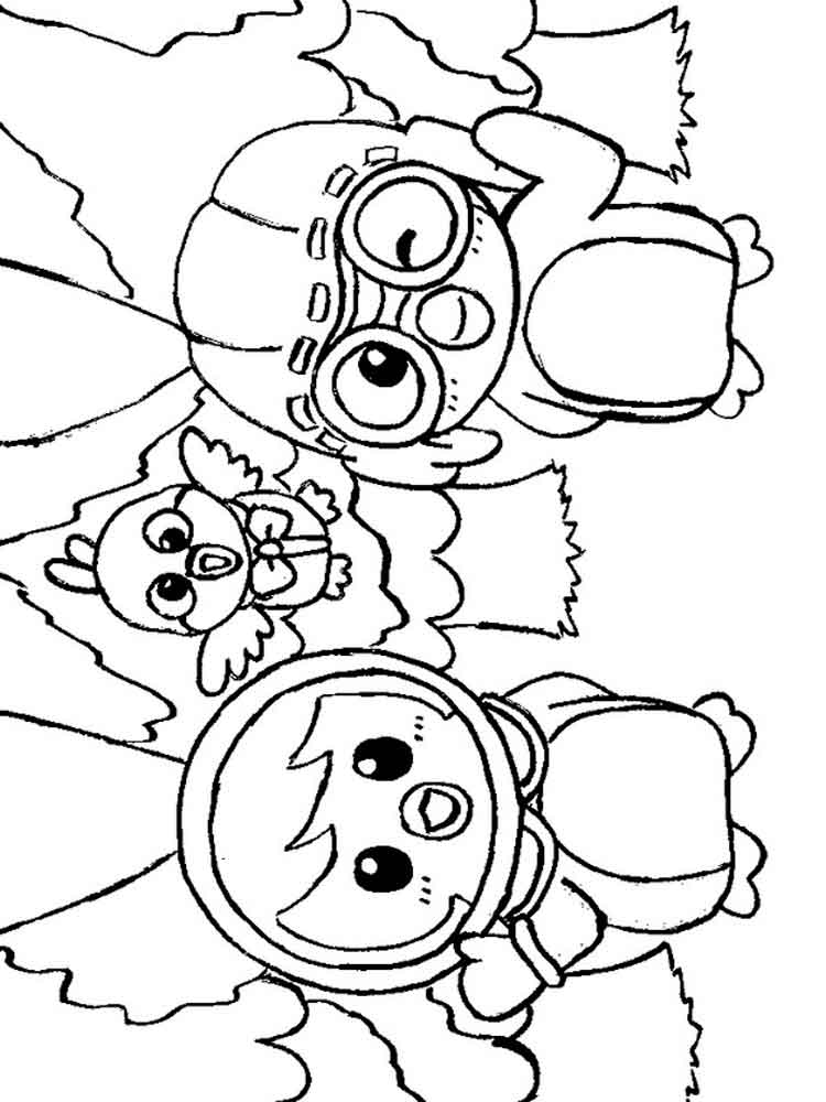 Pororo the Little Penguin coloring pages. Free Printable ...