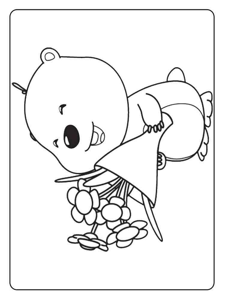 Pororo the Little Penguin coloring