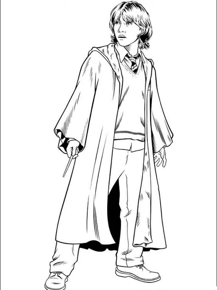 Harry Potter Coloring Pages Download And Print Harry