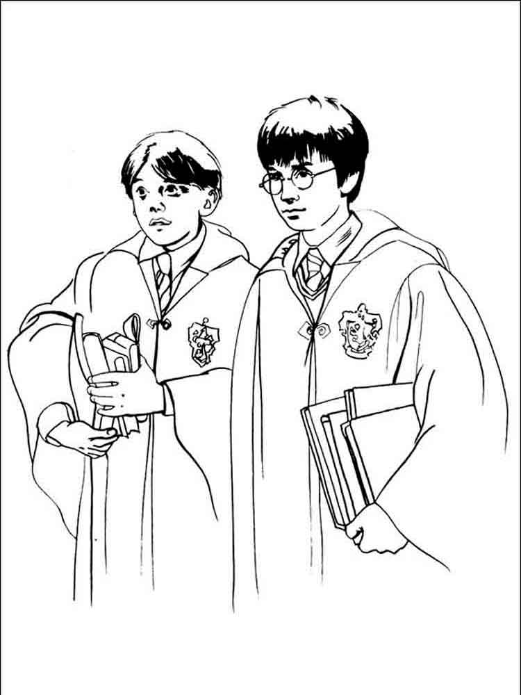 harry potter coloring pages 33
