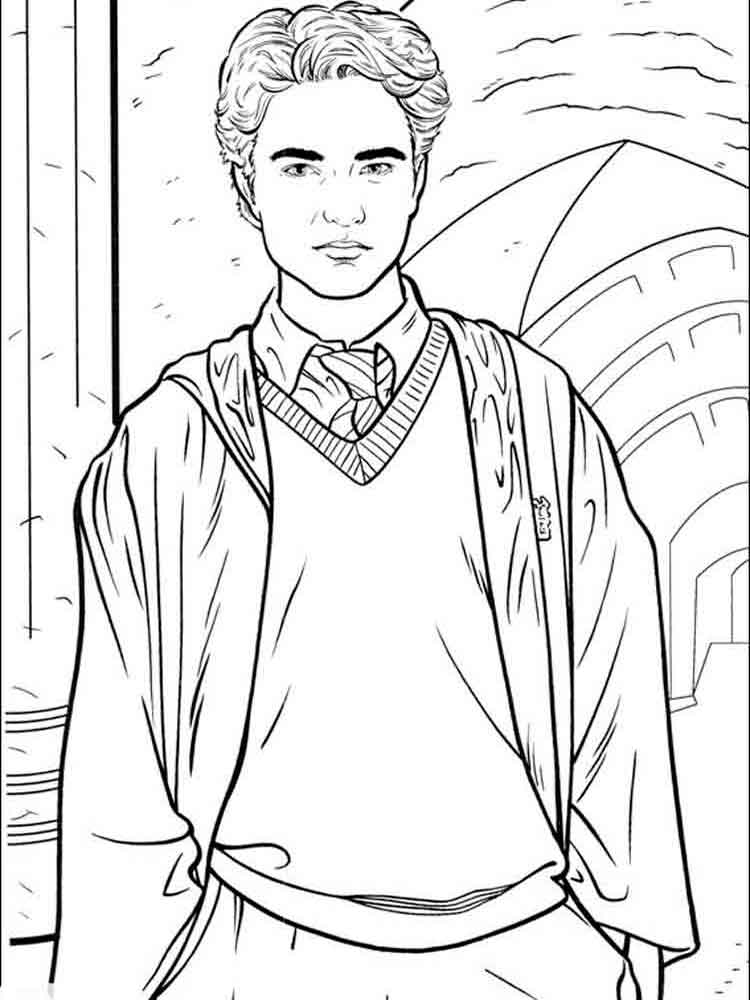 harry potter movie coloring pages - photo#46