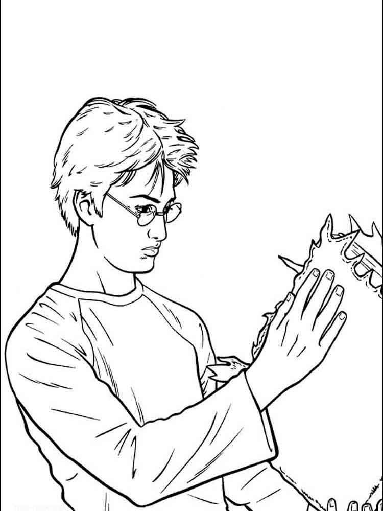 Harry Potter coloring pages Download