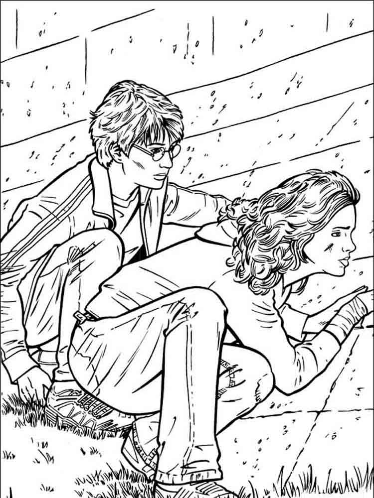Harry Potter coloring pages. Download and print Harry ...
